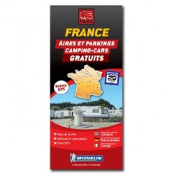 FRANCE Map - Free Motorhome Stopovers